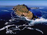 Cape Point where two oceans meet